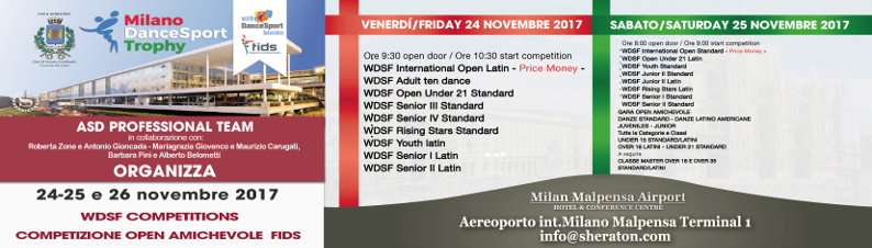 Milano DanceSport Trophy 2017