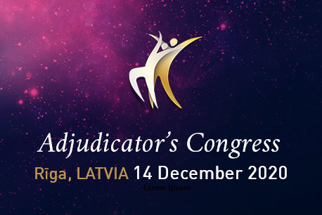 WDSF Adjudicators Congress Riga 2019