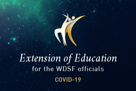 WDSF Education extension due to COVID19