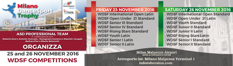 Milano DanceSport Trophy 2016