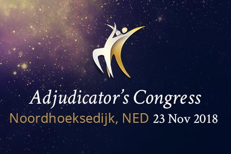 WDSF Adjudicator's Congress Noordhoeksedijk 2018
