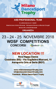 Milano DanceSport Trophy 2018