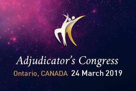 WDSF Adjudicators Congress Ontario 2019